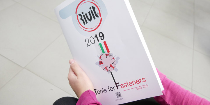 RIVIT catalogue 'Tools for Fasteners' 2019
