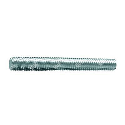 Threaded rod DIN 975 1m white zinc plated steel Fe 37  M4