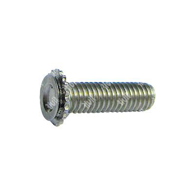 RCFHC-Stud for blind hole Stainless steel 303 h.4,4 min.t.2,4 M3x6