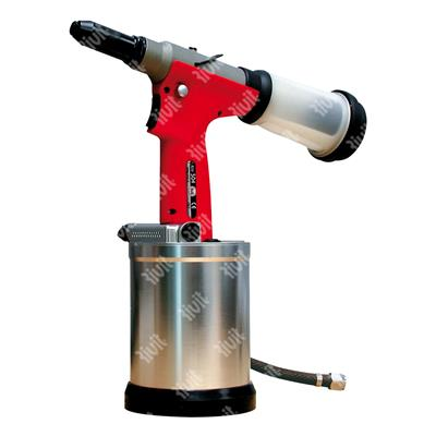 RIV504-Hydropneumatic tool for rivets up to d.6,4 (all materials) and structural up to d.6,4